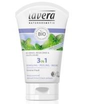 Lavera Faces 3in1 arctisztító / radír / maszk zsíros bőrre