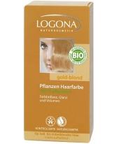 Logona növényi hajfesték por - aranyszőke