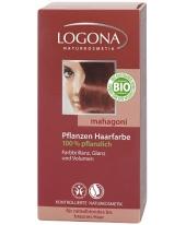 Logona növényi hajfesték por - mahagóni
