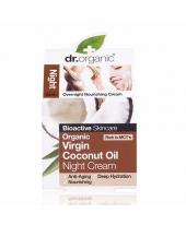 Dr. Organic kókuszolaj éjszakai krém