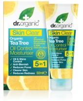 Dr. Organic Skin Clear mattító hidratáló arckrém 5 az 1-ben