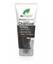 Dr. Organic mélytisztító arclemosó aktív szénnel