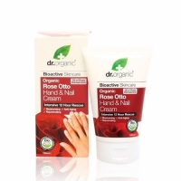 Dr. Organic rózsa kéz- és körömápoló krém