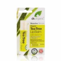Dr. Organic teafa ajakbalzsam