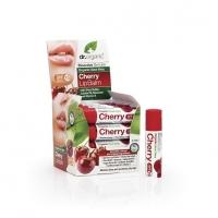 Dr. Organic ajakbalzsam bio aloe verával és cseresznyével