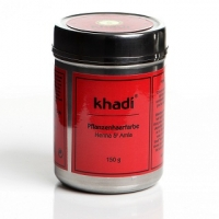 Khadi hajfesték por - vörös Henna & Amla