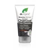 Dr. Organic pórustisztító arcpakolás aktív szénnel