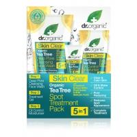 Dr. Organic Skin Clear pattanáskezelő szett 5 az1-ben